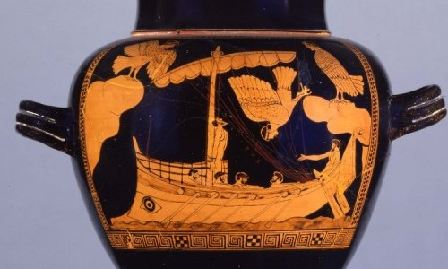 Ancient Depiction of Sirens